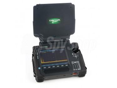 Analizator spektrum OSCOR Green - wykrywanie sygnałów radiowych