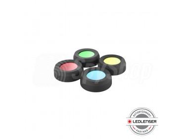 Zestaw kolorowych filtrów (36 mm) do latarek Ledlenser