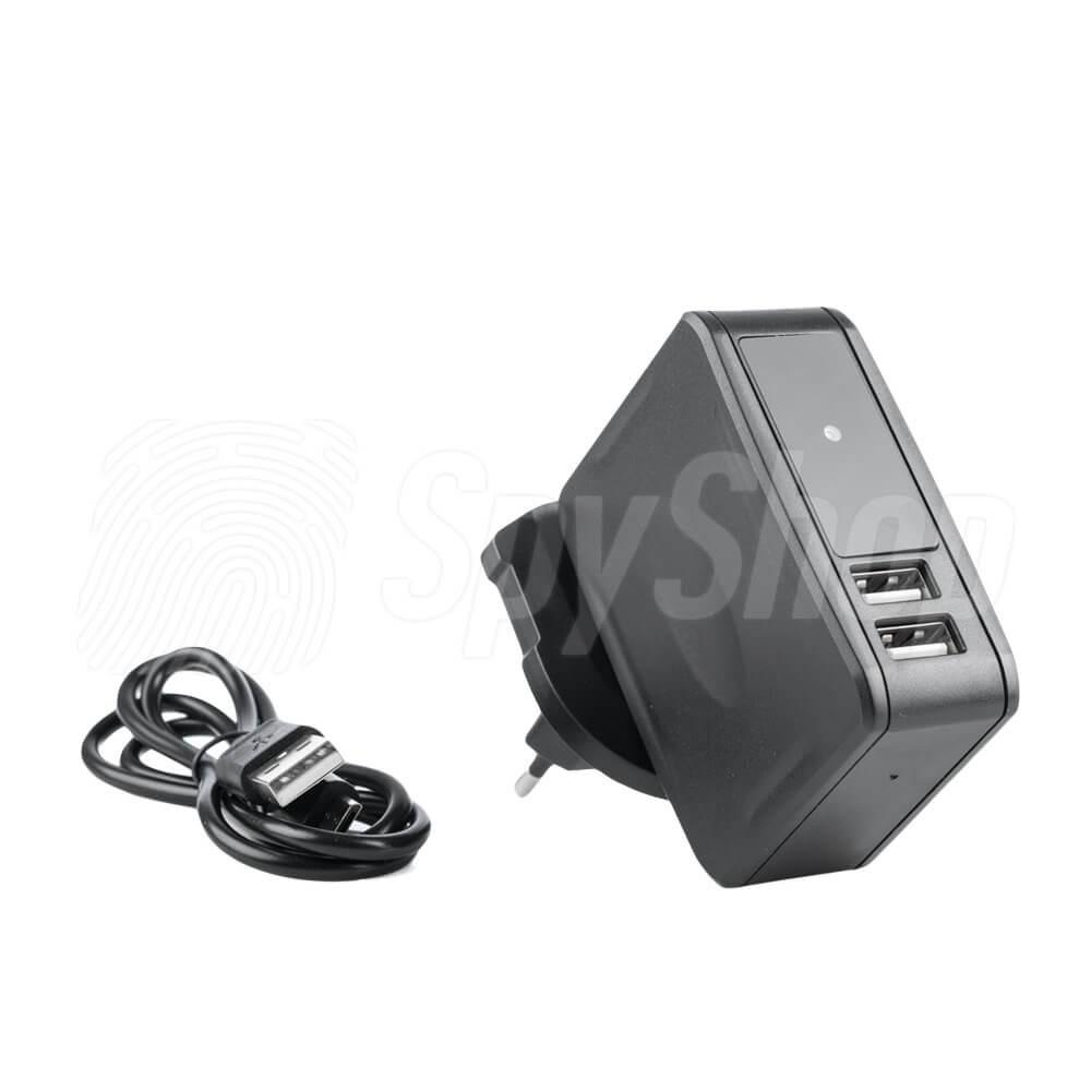 e4b3b7e76120e3 ... Dyskretna kamera AC-T35 ukryta w sieciowej ładowarce USB