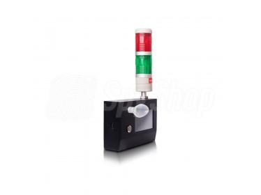 Alkomat stacjonarny Alcolife F10 Pro nieprzerwane pomiary ustnikowe i bezustnikowe