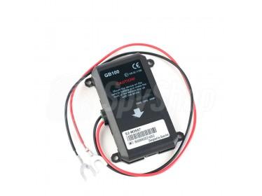 Nadajnik GPS GB100 z funkcją śledzenia i archiwum tras