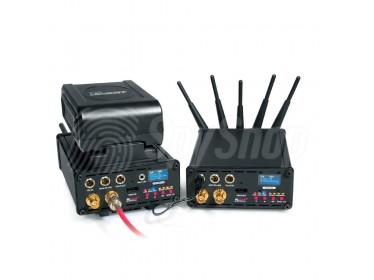 Bezprzewodowa transmisja audio-wideo na odległość 600 m - Camsat Black Link HD5
