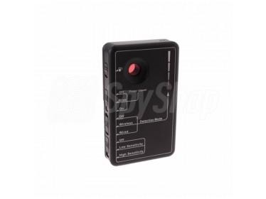 Wykrywacz kamer i podsłuchów w zakresie 20 MHz do 6 GHz - RD-30