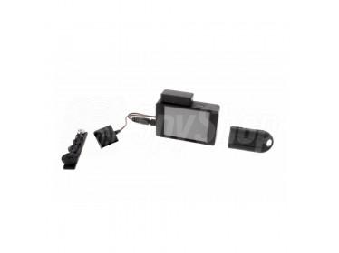 Zestaw BU-500 NEO PRO z kamerą w guziku do nagrywania spotkań