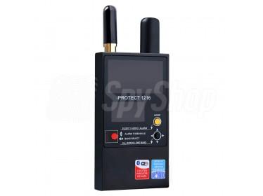 3-pasmowy detektor RF z kontrolą odległości - iProtect 1216