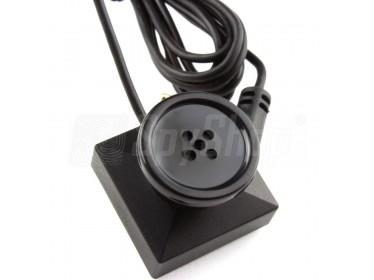 Zestaw PV500 Neo z rejestratorem WiFi i cyfrową mikro kamerą w guziku
