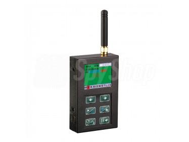 Szerokopasmowy wykrywacz podsłuchów, telefonów komórkowych, sieci WiFi - ST-167