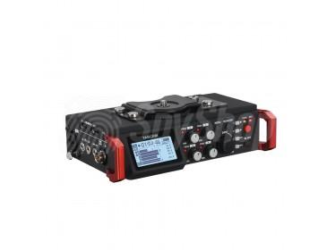 Kompaktowy rejestrator audio do użytku z lustrzanką (DSLR) Tascam DR-701D