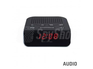 Dyktafon szpiegowski DYK-R1 ukryty w radiobudziku