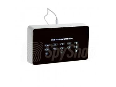 Sterylizator UV VMAX M3 do smartfonów z funkcją ładowania i perfumowania telefonu