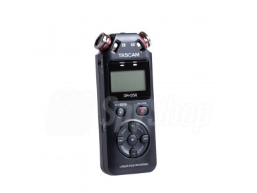 Rejestrator audio dla dziennikarza, do nagrywania podcastów czy vlogerów - Tascam DR-05X