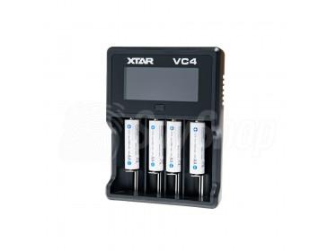 Czterokanałowa ładowarka procesorowa Xtar VC4