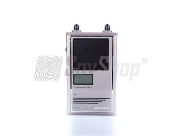 Wykrywanie ukrytych kamer - WCS-99XII z ekranem LCD
