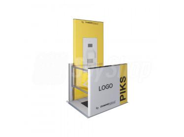 Bramka przejściowa z kamerą termowizyjną (COVID-19) Piks Standard