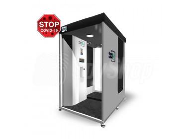 Mobilna kabina dezynfekująca TDC-12 z funkcją skanowania twarzy (COVID-19)