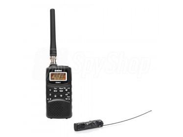 Skaner częstotliwości Uniden i pluskwa radiowa - zestaw do podsłuchu UBS-02