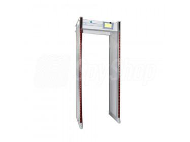 Bramkowy wykrywacz metali UB800 – 33 strefy wykrywania