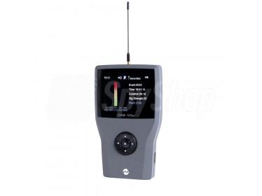Bardzo czuły wykrywacz telefonów komórkowych 2G/3G/4G oraz Wi-Fi i Bluetooth - CAM-105W