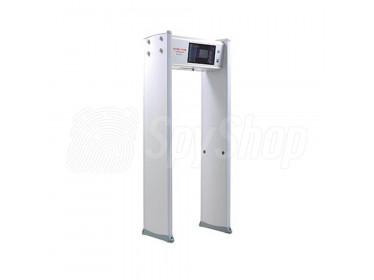 Bramka przejściowa z kamerą termowizyjną SE20108 i wykrywaczem metali