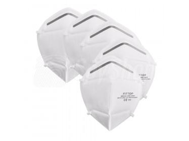 Jednorazowa maska z filtrem N95 COVID-19