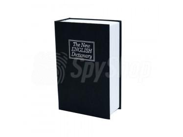 Kamera w książce i sejf w jednym z materiałem w jakości FullHD