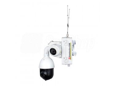 Kamery monitorujące plac budowy iConstruction-CAM Duplex