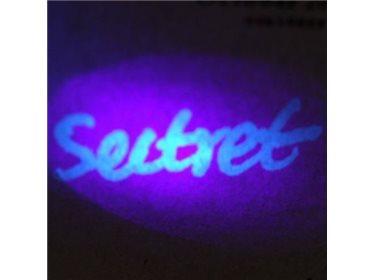 Zestaw do tworzenia niewidocznych notatek - pisak ultrafioletowy z lampą UV
