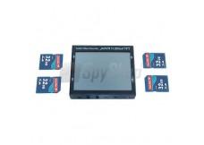 Profesjonalny mini rejestrator obrazu i dźwięku mAVR H.264x4 TFT