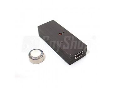 Miniaturowy dyktafon cyfrowy dla detektywa - TAR-22 chroniony hasłem