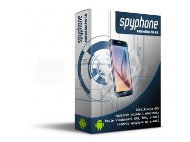 Monitoring GPS i podsłuch telefonu pracownika - SpyPhone Android Rec Pro