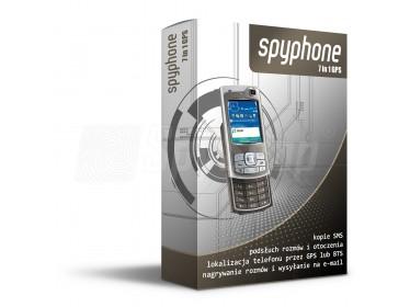 SpyPhone 7in1 GPS - podsłuch GSM i lokalizowanie telefonu Symbian