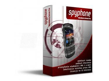 SpyPhone Blackberry Server Pro - podsłuch GSM i kontrola telefonu