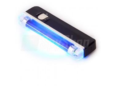 Lampa UV do testowania banknotów i proszków kryminalistycznych