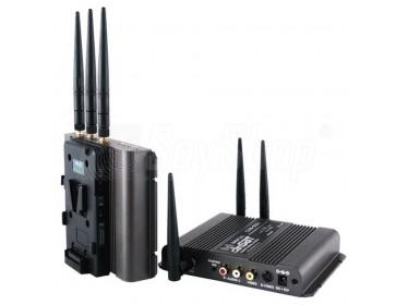 CAMSAT CDS-5021TV do kodowania bezpiecznej transmisji audio-video