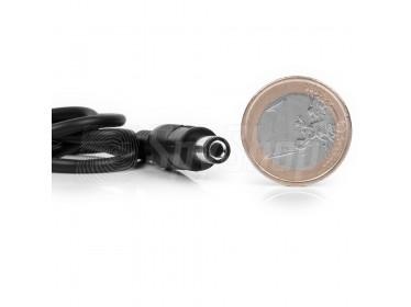 Minikamera CM-DC10 do monitoringu biura ukryta w złączu zasilacza