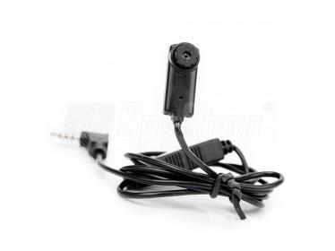 Płaska mini kamera szpiegowska MO-S2507UA z mikrofonem