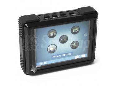 """Wodoodporny rejestrator z ekranem dotykowym 3,5"""" MP-600HD"""