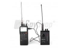 Zestaw do wykrywania i lokalizacji podsłuchów Aceco FC-3002 i ICOM IC-R20