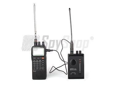Wykrywanie i namierzanie podsłuchów - zestaw szpiegowski IC-R20 i FC-3002