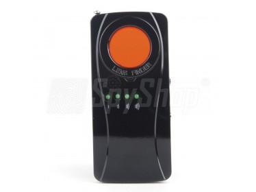 Laserowy wykrywacz kamer i podsłuchów - kompaktowy AUMAS S-26