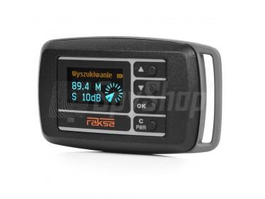 Raksa-120 - wykrywacz kamer, podsłuchów GSM, lokalizatorów GPS