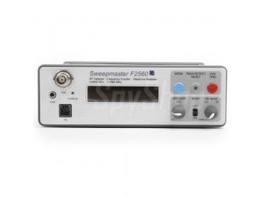 Cyfrowy wykrywacz częstotliwości radiowych i kamer SweepMaster F2560