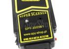 Mobilny wykrywacz metali Super Scanner dla pracowników ochrony