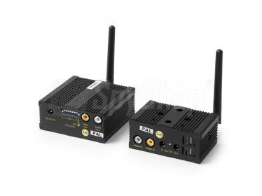 Bezprzewodowy, kodowany system transmisji wideo W8CHS-2.4ED
