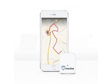 Tractive TRATR1 GPS dla psa z rocznym abonamentem