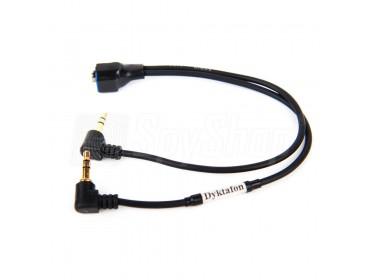 Kabel łączący dyktafon z odbiornikiem radiowym