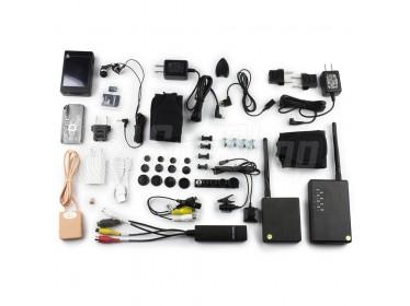 Zestaw egzaminacyjny BTR-001 Pro+ - kamera, mikrosłuchawka, rejestrator