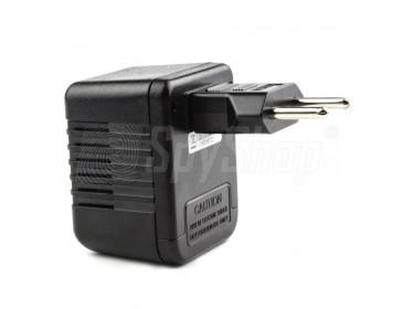 Minikamera Full HD z rejestratorem ukryta w zasilaczu sieciowym PV-AC10FHD