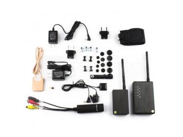 Kamera bezprzewodowa o dużym zasięgu i mikrosłuchawka - zestaw PVK-001 Pro+
