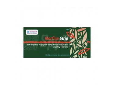 Narkotest do wykrywania morfiny, heroiny i kodeiny - Morfina-Strip